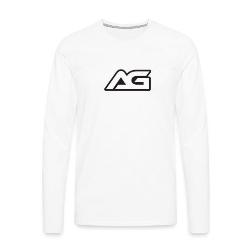 arcade gamer - Men's Premium Long Sleeve T-Shirt