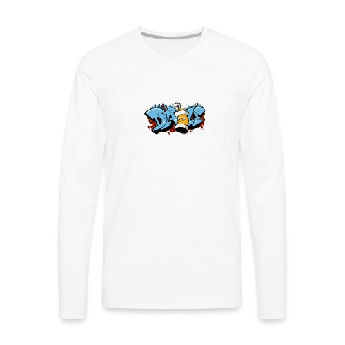 Graffiti Transparent PNG - Men's Premium Long Sleeve T-Shirt