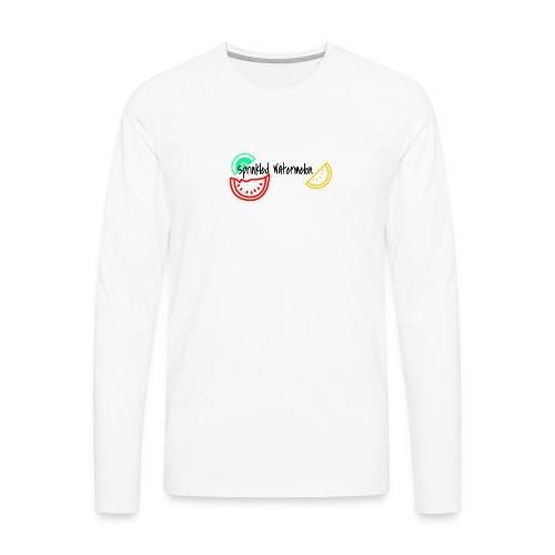 Just Chillin - Men's Premium Long Sleeve T-Shirt
