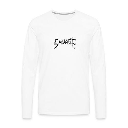 Sharp Savage - Men's Premium Long Sleeve T-Shirt