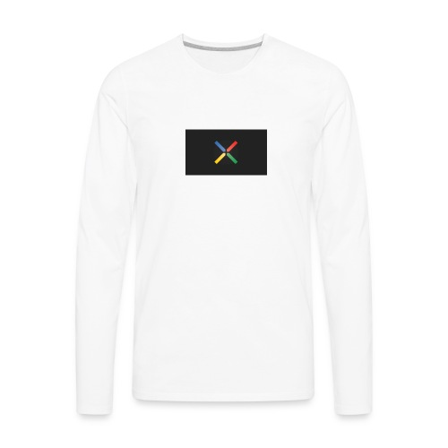 Nexus Gray - Men's Premium Long Sleeve T-Shirt