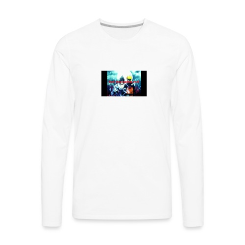 Saul does random stuff - Men's Premium Long Sleeve T-Shirt