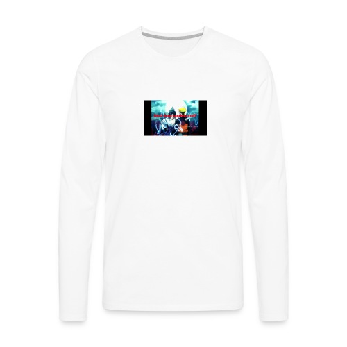 Saul does random stuff - Men's Premium Long Sleeve T-Shirt