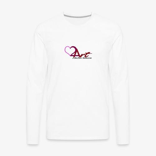 Heart2Art - Men's Premium Long Sleeve T-Shirt
