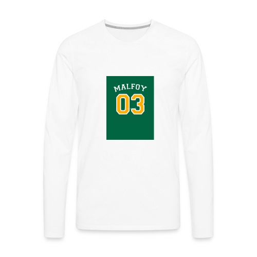 Malfoy 03 - Men's Premium Long Sleeve T-Shirt