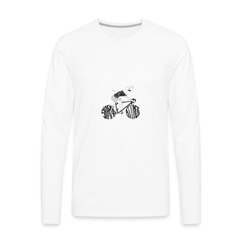 Shark Attack - Men's Premium Long Sleeve T-Shirt