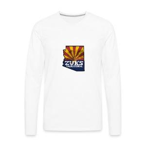 Zuks of Arizona Official Logo - Men's Premium Long Sleeve T-Shirt