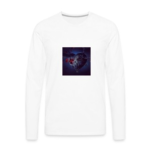 STEAM HEART - Men's Premium Long Sleeve T-Shirt