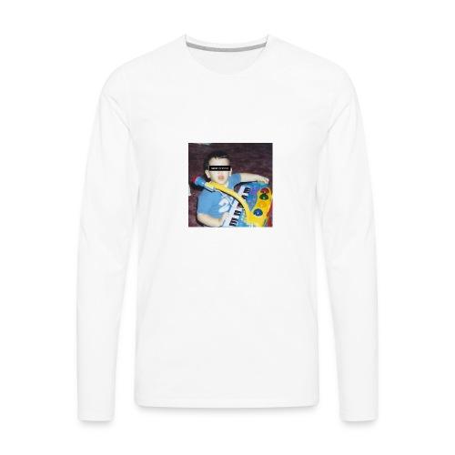 childhood - Men's Premium Long Sleeve T-Shirt