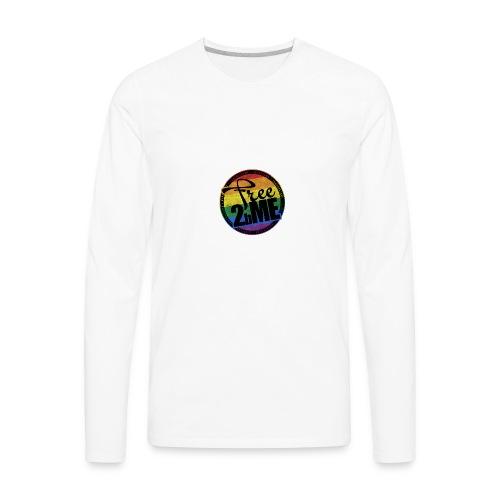 Free2bMe6 - Men's Premium Long Sleeve T-Shirt