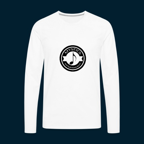 mystics_ent_black_logo - Men's Premium Long Sleeve T-Shirt