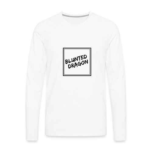 Square painted logo - Men's Premium Long Sleeve T-Shirt