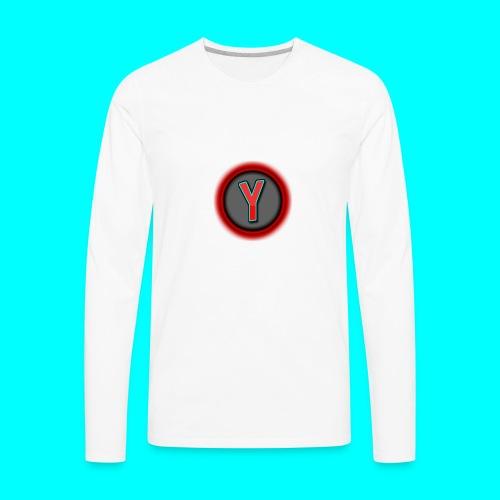 CoolYeti LOGO - Men's Premium Long Sleeve T-Shirt