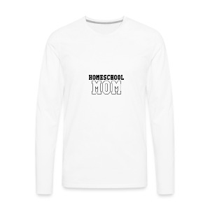 homeschoolmom - Men's Premium Long Sleeve T-Shirt