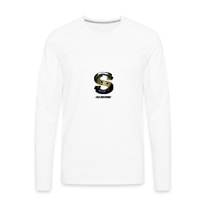 CallMeStabbzHD Logo - Men's Premium Long Sleeve T-Shirt