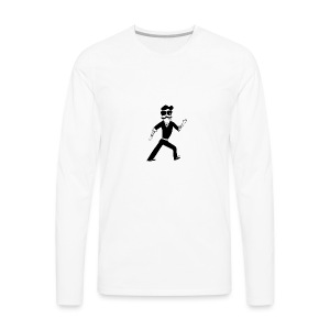 The Famous Mr Warrior - Men's Premium Long Sleeve T-Shirt