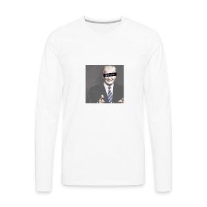 Donald Trump Genius - Men's Premium Long Sleeve T-Shirt