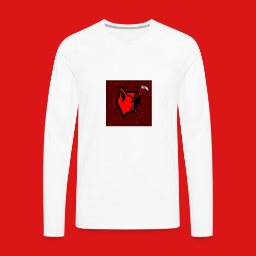 PhantomGames Logo - Men's Premium Long Sleeve T-Shirt