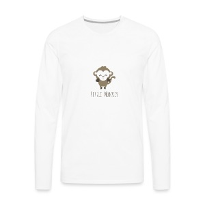 Little Monkey - Men's Premium Long Sleeve T-Shirt