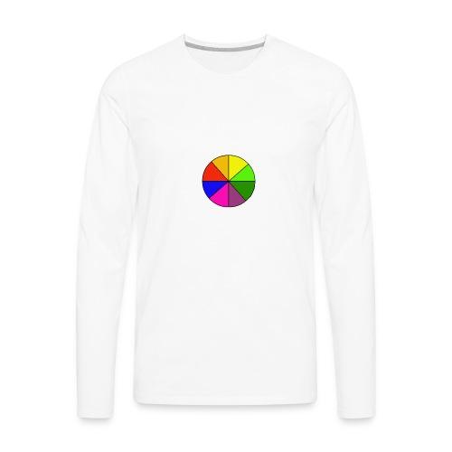 Mr Rainbow Shirts - Men's Premium Long Sleeve T-Shirt