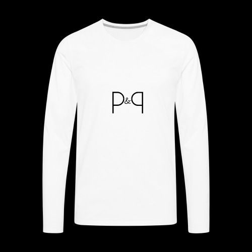 Phoebe & Petard Logo (Initials) - Men's Premium Long Sleeve T-Shirt
