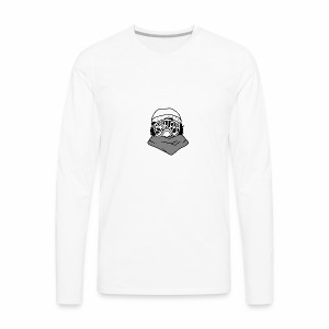 Shirleys Ski Goggles - Men's Premium Long Sleeve T-Shirt