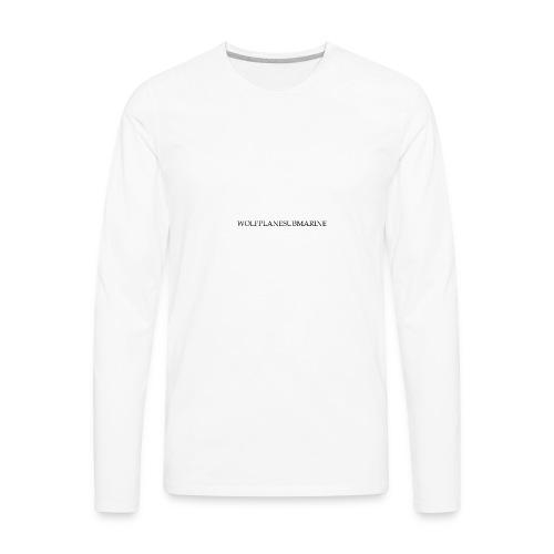 WOLFPLANESUBMARINE - Men's Premium Long Sleeve T-Shirt