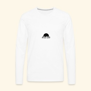 Horizon Gold Logo - Men's Premium Long Sleeve T-Shirt