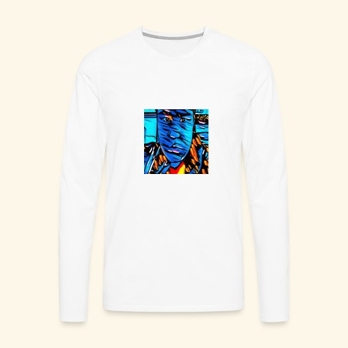 Ryan Leslie 76 Shirts - Men's Premium Long Sleeve T-Shirt