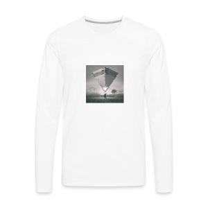 beeple crap 03 18 17 - Men's Premium Long Sleeve T-Shirt