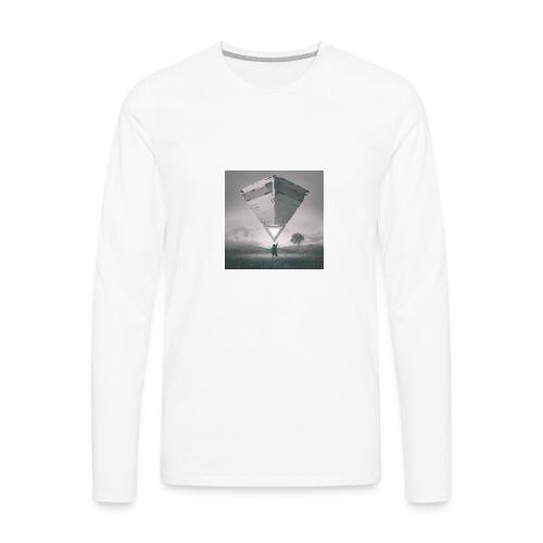 beeple crap 03 18 17 - Men's Premium Long Sleeve T-Shirt