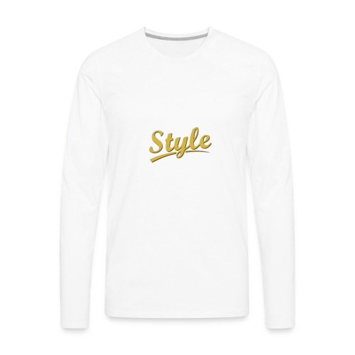 Step in style merchandise - Men's Premium Long Sleeve T-Shirt