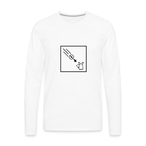 Portal - Pocket Monsters Mashup - Men's Premium Long Sleeve T-Shirt