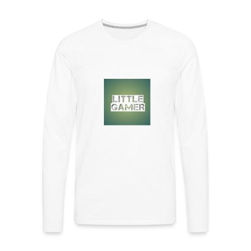 Little gamer - Men's Premium Long Sleeve T-Shirt