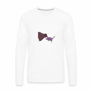 FueGo Grandpa's Cough Syrup - Men's Premium Long Sleeve T-Shirt