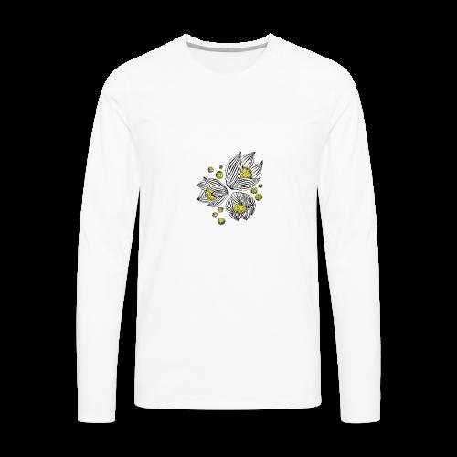 Floral design - Men's Premium Long Sleeve T-Shirt