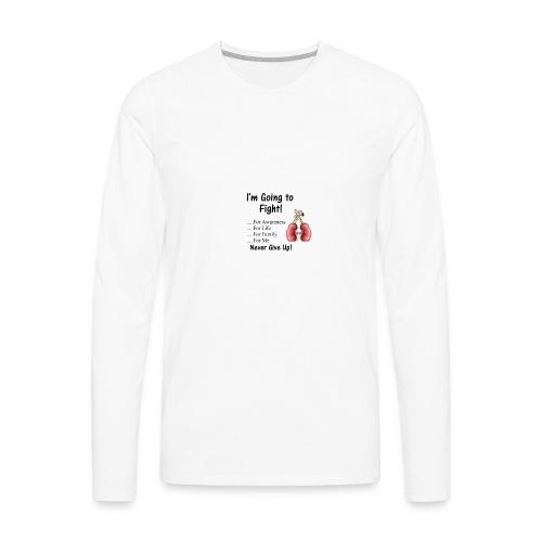 Knock Out Kidney Disease - Men's Premium Long Sleeve T-Shirt