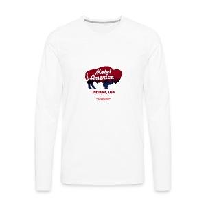 Great The Motel USA - Men's Premium Long Sleeve T-Shirt