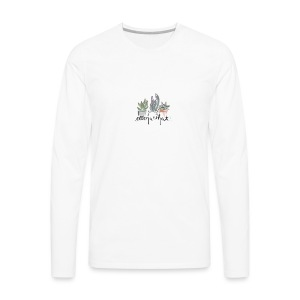 succulent - Men's Premium Long Sleeve T-Shirt