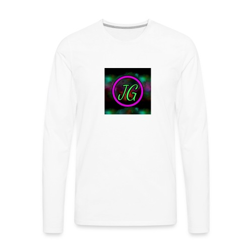 Joker Gaming Logo - Men's Premium Long Sleeve T-Shirt