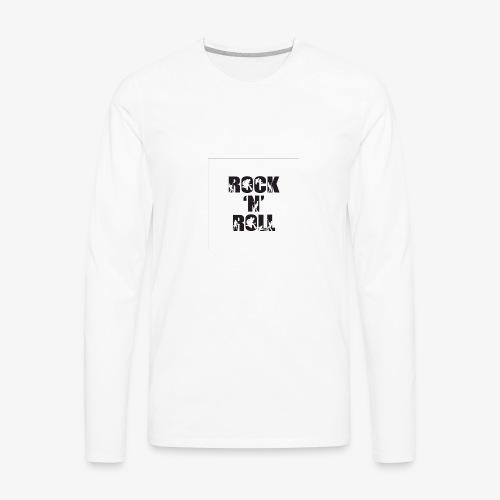 RockNRoll Tshirt Original - Men's Premium Long Sleeve T-Shirt