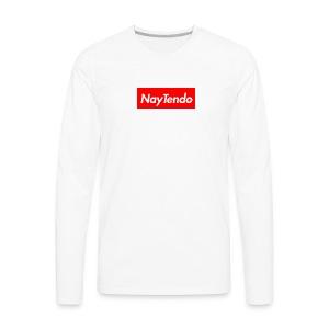 Supreme Logo - NayTendo - Men's Premium Long Sleeve T-Shirt