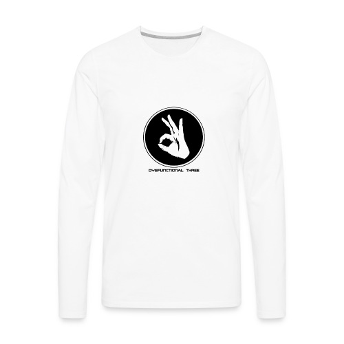 Dysfunctional three LOGO - Men's Premium Long Sleeve T-Shirt
