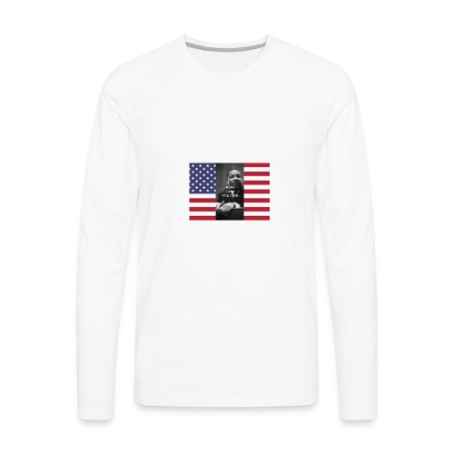 Martin Luther King Jr Day's Graphic Novel - Men's Premium Long Sleeve T-Shirt