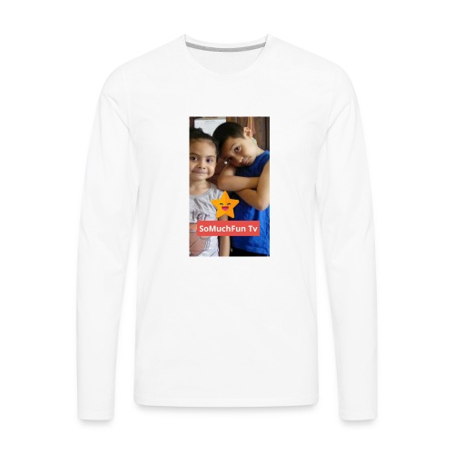 SoMuchFun tv be a star - Men's Premium Long Sleeve T-Shirt