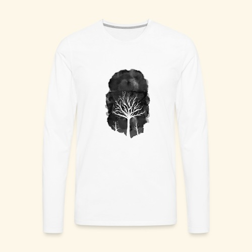 Dead tree1 - Men's Premium Long Sleeve T-Shirt