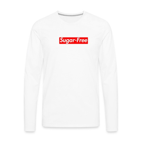 Sugar-Free box logo - Men's Premium Long Sleeve T-Shirt