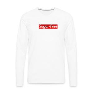 Sugar-Free box logo - Men's Premium Long Sleeve T-Shirt