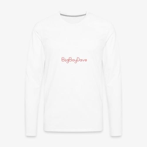 bigboy dave - Men's Premium Long Sleeve T-Shirt