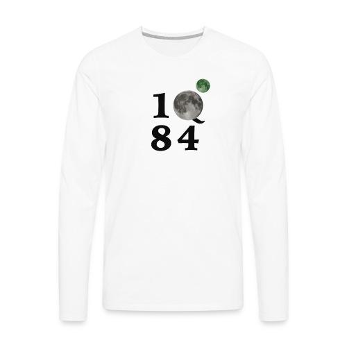 1Q84 - Men's Premium Long Sleeve T-Shirt